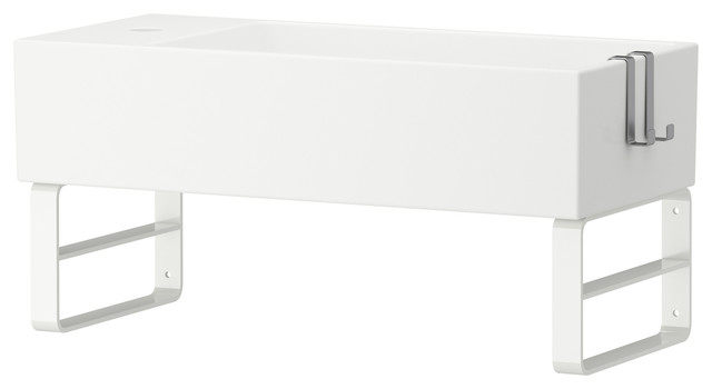 Utility Sink Wall Mount Bracket : LILL?NGEN Sink with wall bracket - Contemporary - Utility Sinks - by ...