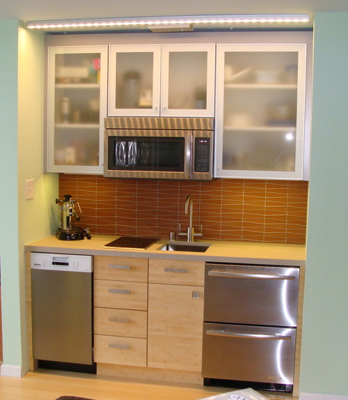 Mini kitchen redo for Mini kitchen ideas