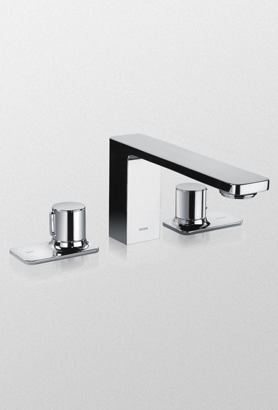 Toto Tb170dd Cp Kiwami Renesse Deck Mount Faucet Polished Chrome Contemporary Kitchen Taps