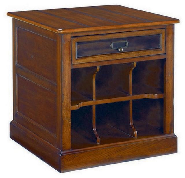Hammary mercantile rectangular storage end table contemporary side tables end tables by - Contemporary side tables with storage ...