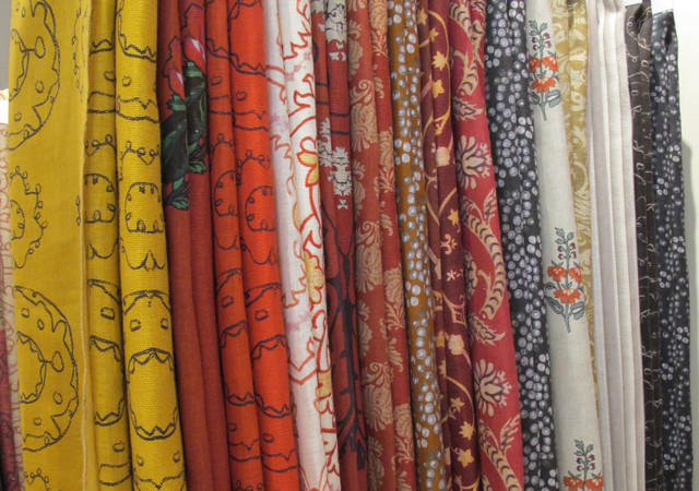 Curtain fabric outlet