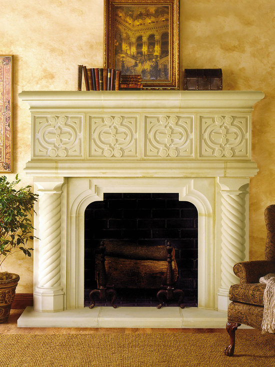 majorca cast stone fireplace mantel the majorca cast