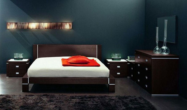 Made In Italy Quality Elite Modern Bedroom Set Modern