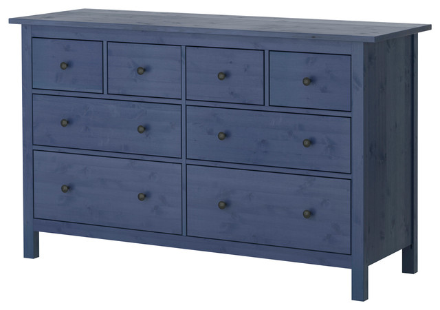 Hemnes chest of 8 drawers blue contemporary chests of drawers by ikea uk - Hemnes cassettiera ikea ...