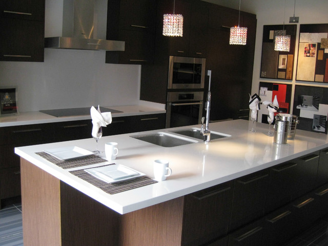 Seifer Countertop Ideas Contemporary Kitchen Countertops New York By Seifer Kitchen