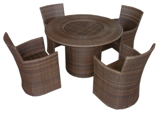 Bolivia dinng set traditional outdoor dining sets for Traditional garden furniture