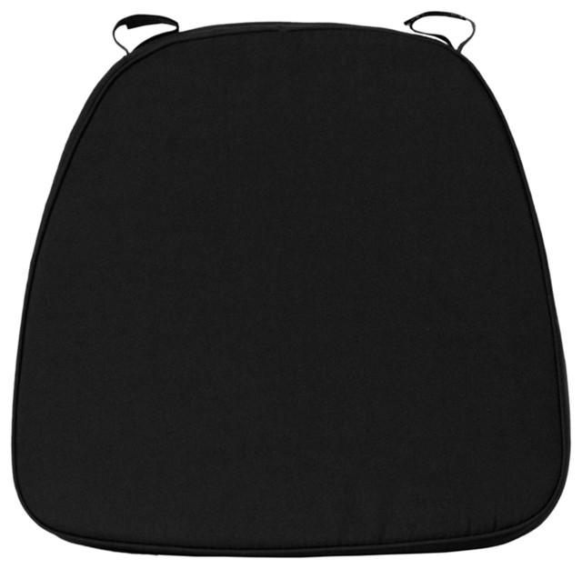 Flash Furniture Soft Black Fabric Chiavari Cushion for  : modern seat cushions from houzz.com.au size 640 x 626 jpeg 43kB