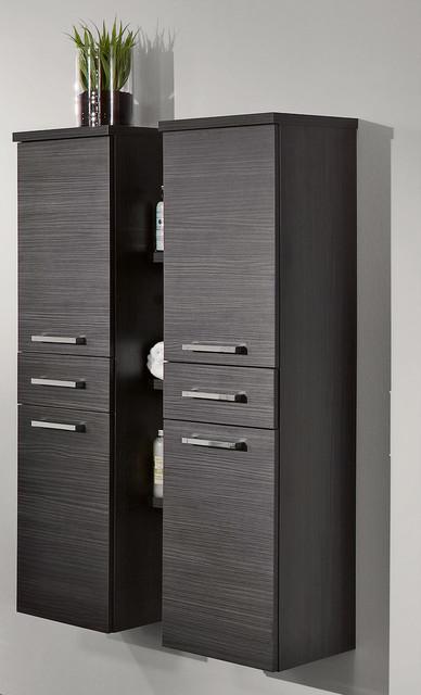 Creative Wooden Bathroom Cabinet With Modern European Style
