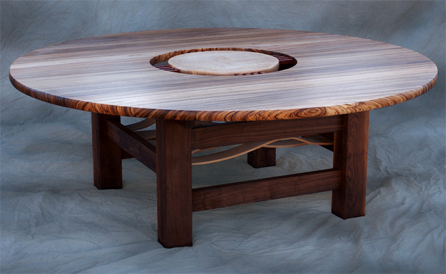 Dining or conference table with glass insert dining for Kitchen table with glass insert