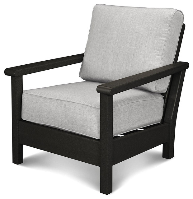 Tahoe Deep Seating Chair Granite Contemporary Outdoor Lounge Chairs