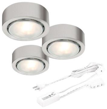 CSL Lighting 162-3 Apollo Single Halogen Bulb Under Cabinet Low Voltage Puck Lig - Contemporary ...