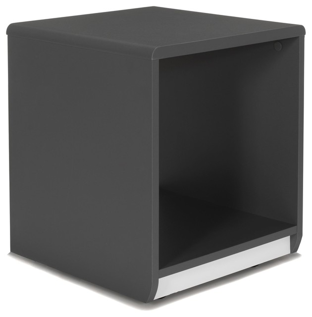 Cool table de chevet forme cube moderne table de chevet et table de nuit par alin a - Table de nuit alinea ...