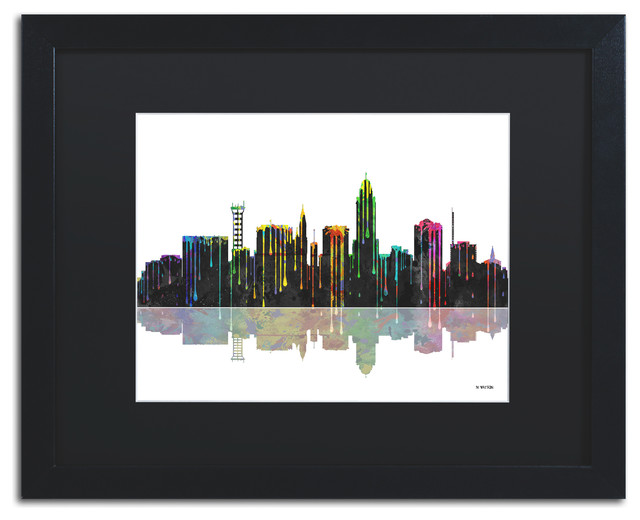 39 lincoln nebraska skyline 39 matted framed canvas art by Home decor lincoln ne