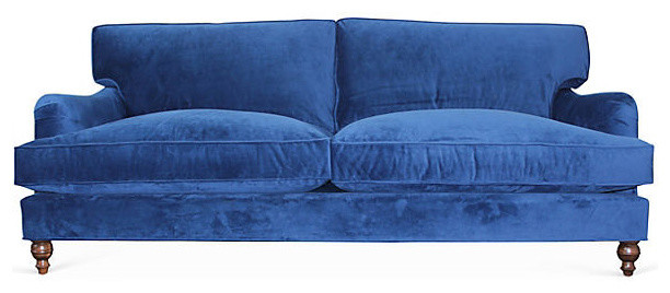 Sherlock Sofa Sapphire Transitional Sofas By Jaxon Home