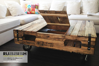 Coffee Table With Storage Modern Coffee Tables San Diego By Rubbish Furniture