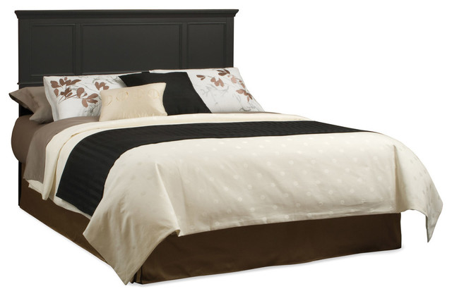 Bedford Headboard Black Queen Transitional Headboards By Home