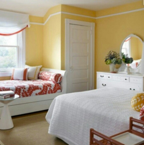 White Paint For A North Facing Bedroom