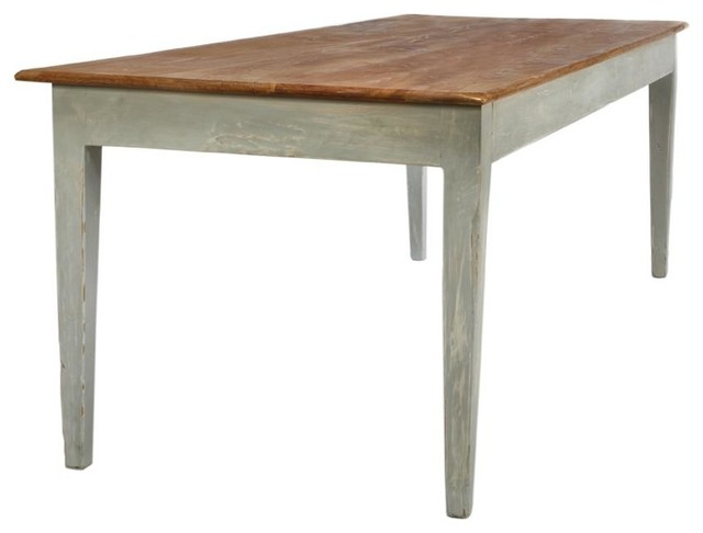 Lockland harvest table traditional dining tables for Traditional dining table uk