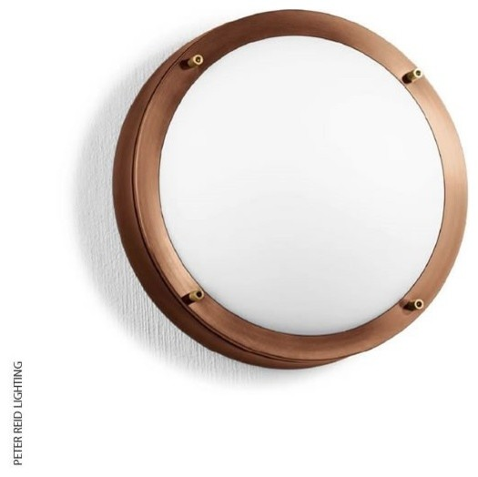 BOOM B 1333 Small Round Ceiling/Wall Light LED - Contemporary - Outdoor Wall Lights - by Peter ...
