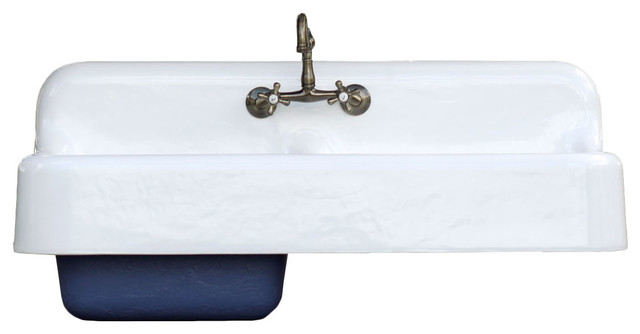 ... Apron Cast Iron Porcelain Farm Sink - Traditional - Kitchen Sinks - by