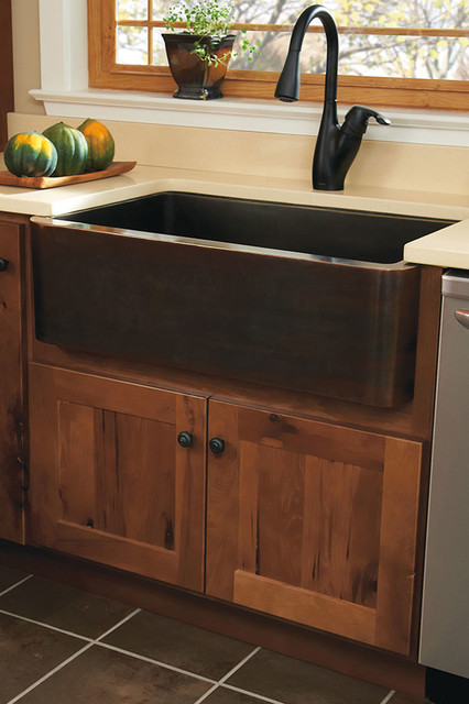 Country Sink Base : Country Sink Base - Homecrest Cabinetry - Bathroom Sinks - by ...