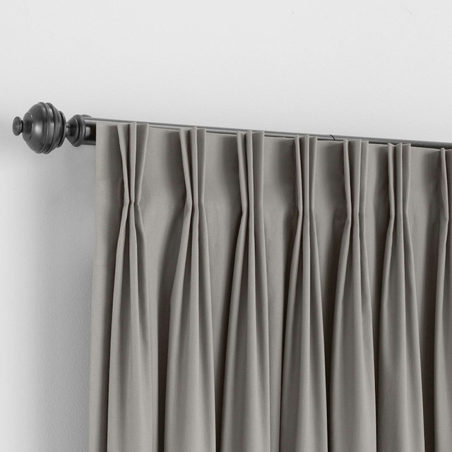 Bali Custom Pinch Pleat Draperies - Traditional - Curtains - denver - by BlindSaver.com