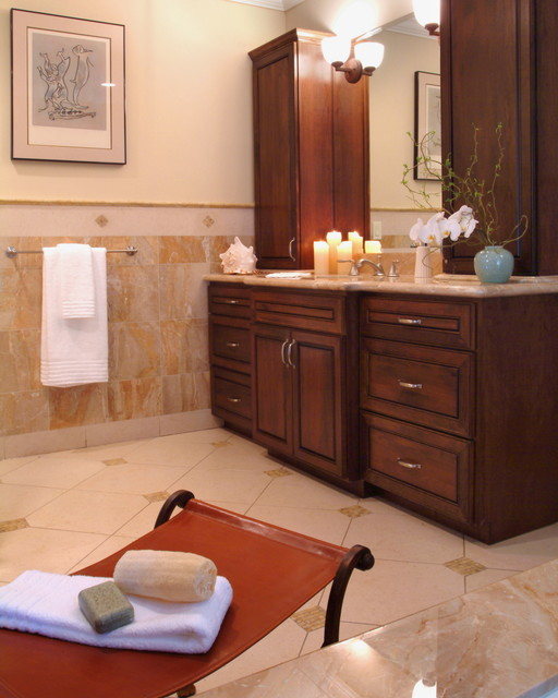 traditional master bath vanity traditional bathroom
