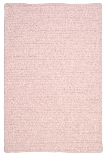Allusion Area Rug 10 X13 Blush Pink Traditional