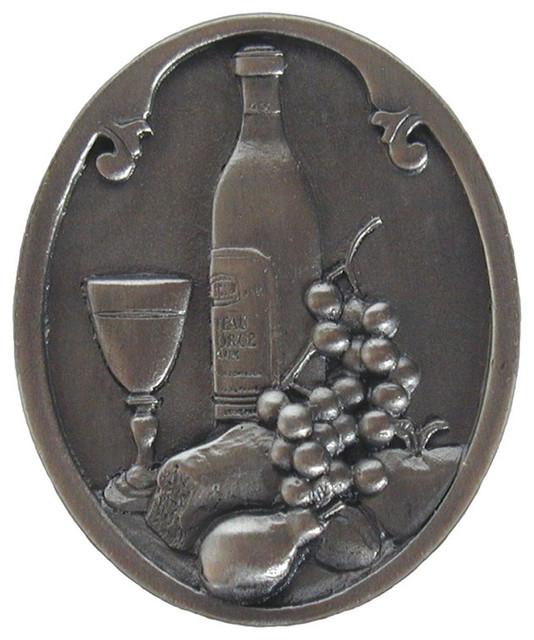 Notting Hill Best Cellar Wine Knob Antique Pewter