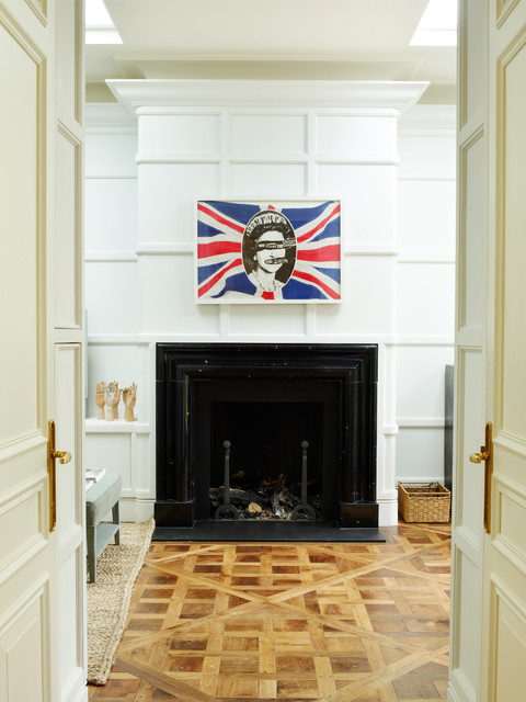 Central london town house traditional london by for Interior designers central london