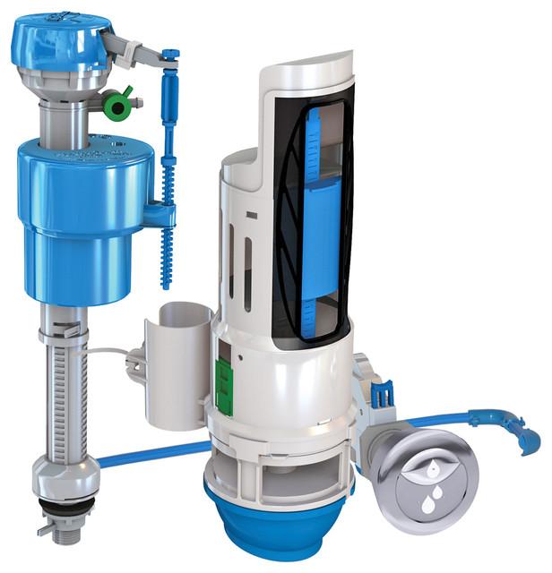HYF450 DuoFlush Dual Flush Converter Toilet Repair Kit Transitional Bidet