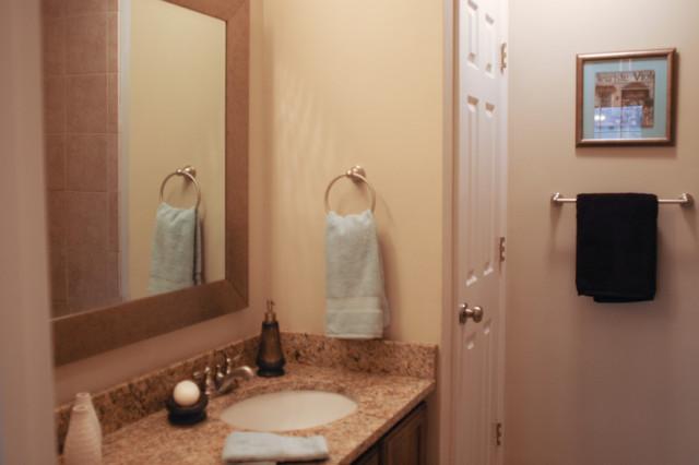 Dunwoody Condo Contemporary Bathroom Atlanta By
