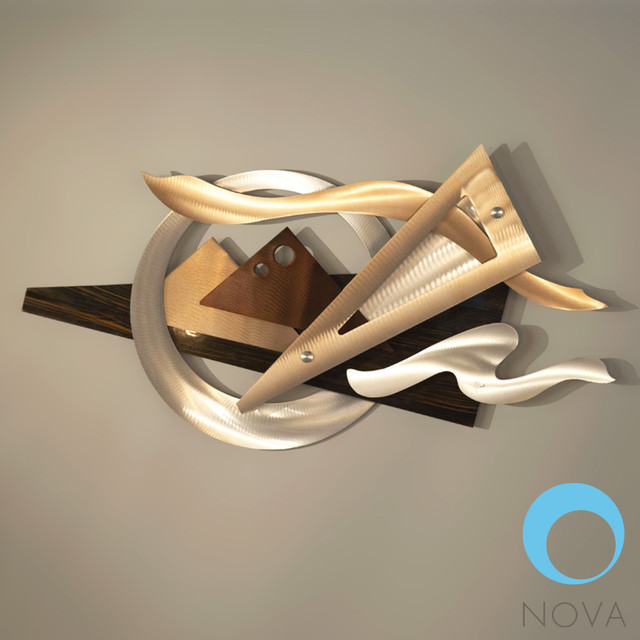 Nova Wings Wall Graphic Modern Home Accessories Decor Los Angeles