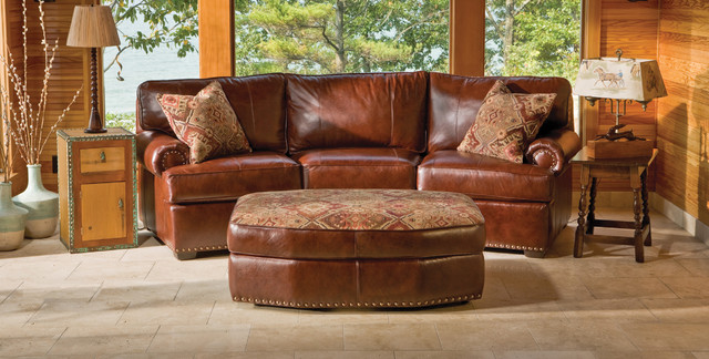 Rustic Leather Living Room Furniture Rustic Sofas By Kloter