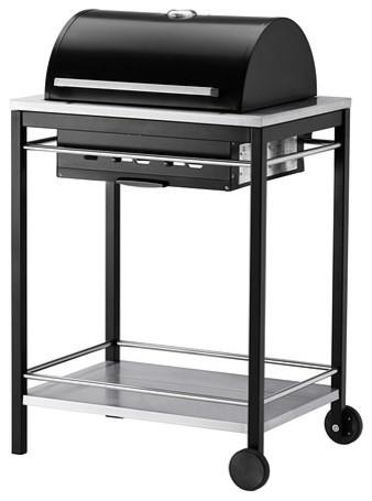 klasen charcoal barbecue modern outdoor grills by ikea uk. Black Bedroom Furniture Sets. Home Design Ideas