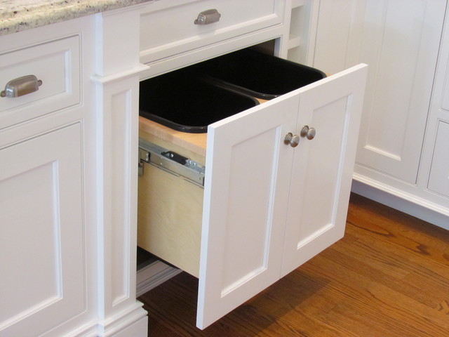 kitchen trash cabinet pull out 1