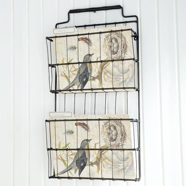 Metal Basket Shelf - Traditional - Storage And ...