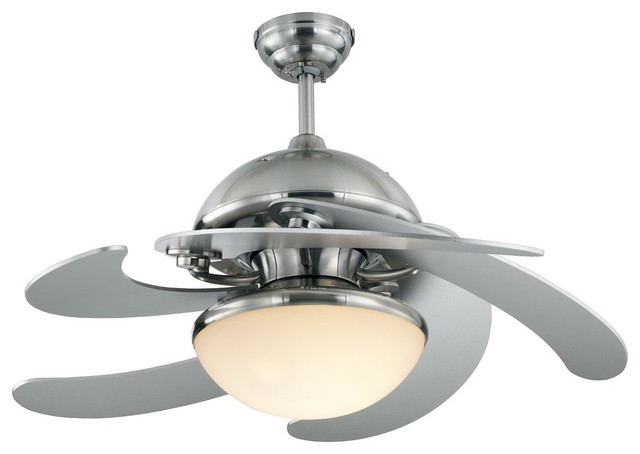 Monte Carlo 52in. Centrifica Ceiling Fan - Contemporary - Ceiling Fans ...