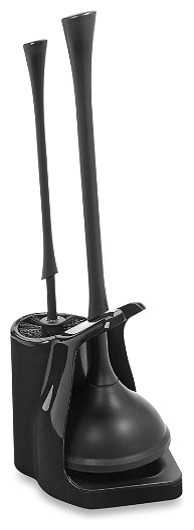 bowl brush and plunger combo contemporary toilet brushes holders by morestorage inc. Black Bedroom Furniture Sets. Home Design Ideas