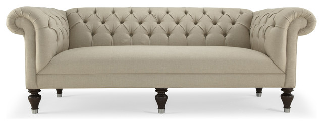 Chester 90 Inch Sofa Traditional Sofas By Mitchell