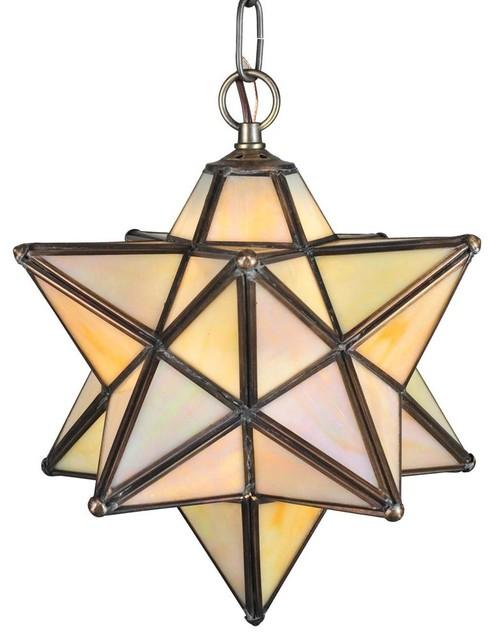 moravian iridescent pendant pendant lighting by shopladder. Black Bedroom Furniture Sets. Home Design Ideas