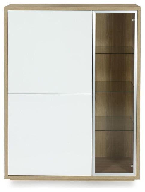 checker meuble vitrine 3 portes design scandinave moderne buffet et bahut par alin a. Black Bedroom Furniture Sets. Home Design Ideas