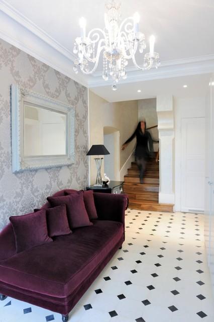 R novation d 39 une maison ancienne moderne entr e other metro par v - Maison ancienne moderne ...