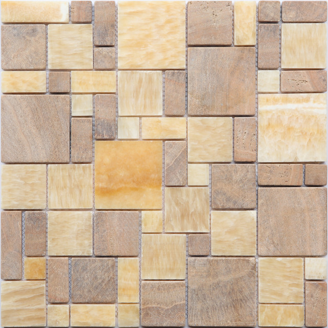 new design glass stone metal blend mosaic tile for bathroom wall floor modern mosaic