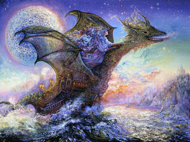 Dragon ship wall mural traditional wall stickers for Dragon mural for wall