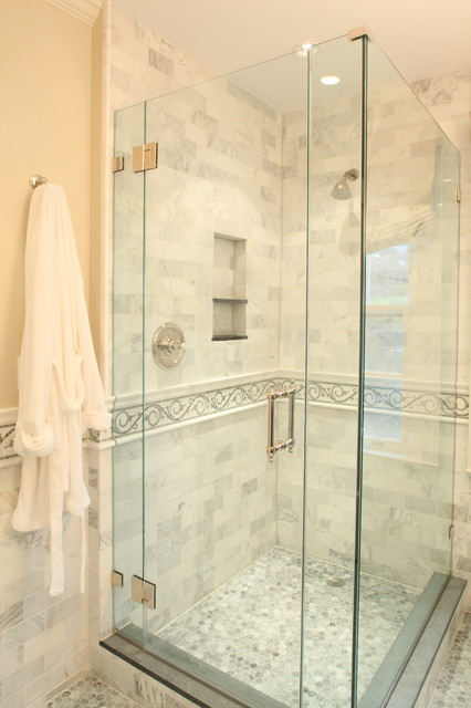 Livable Luxury Guest Bathroom Transitional New York By House Of Funk