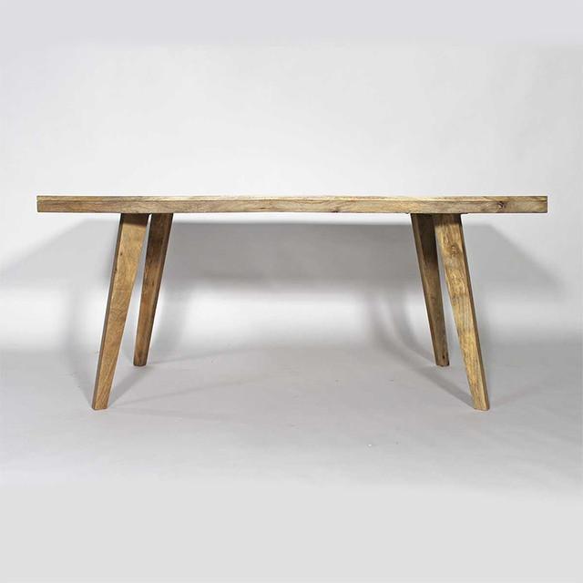 Table scandinave en bois massif scandinave table manger other metro - Table a manger massif ...