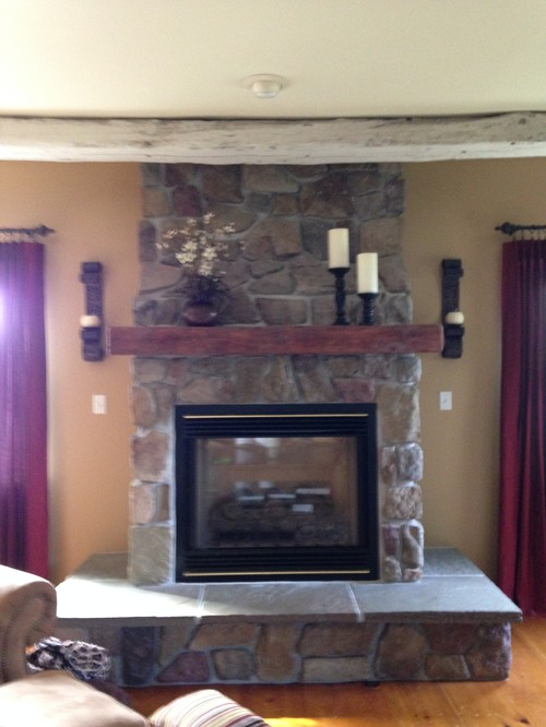 need help decorating my fireplace mantle and hearth