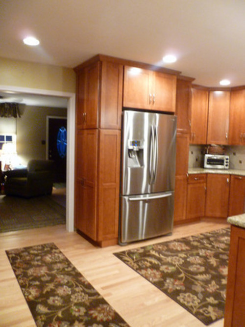Pantry Cabinet: Thin Pantry Cabinet with Build a Tall Kitchen ...