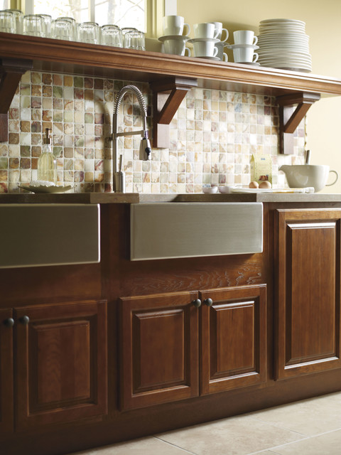 Schrock Country Sink Base Cabinet - Traditional - Kitchen Cabinetry - Other - by MasterBrand ...